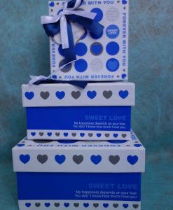 Blue Boxes S/M/L Gift Wrapping