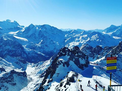 Mont Fort above Verbier CH