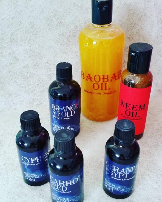 Vegetable & Essential Oils