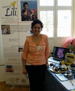 Lili at Health Safety Event Zurich