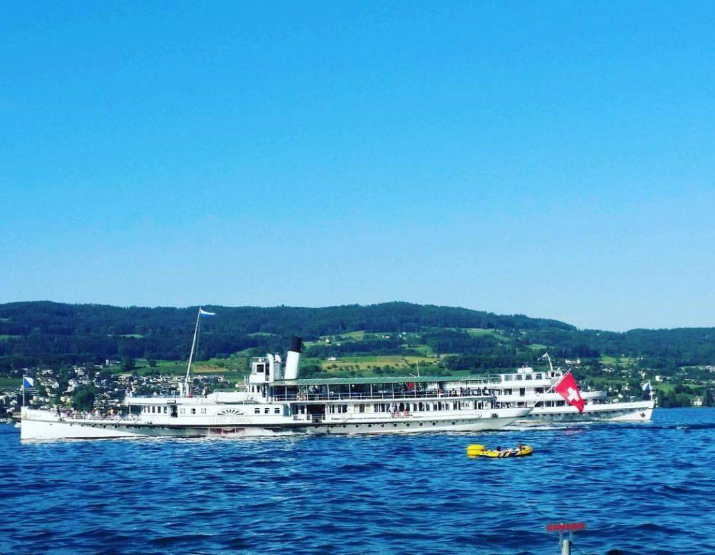 Summer Lake Zurich