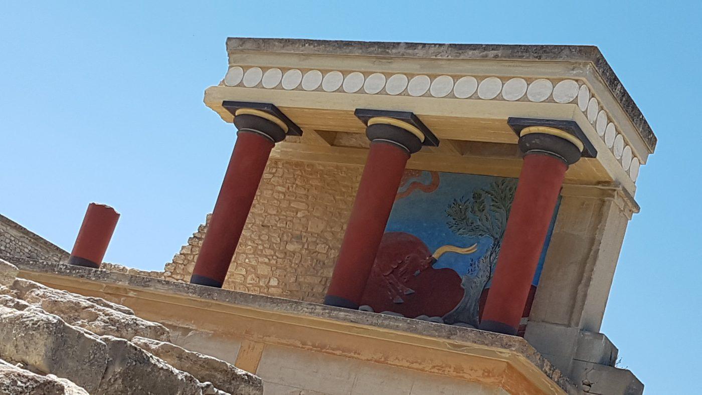 Knossos Minoan Palace Crete