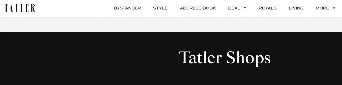 TATLER Banner