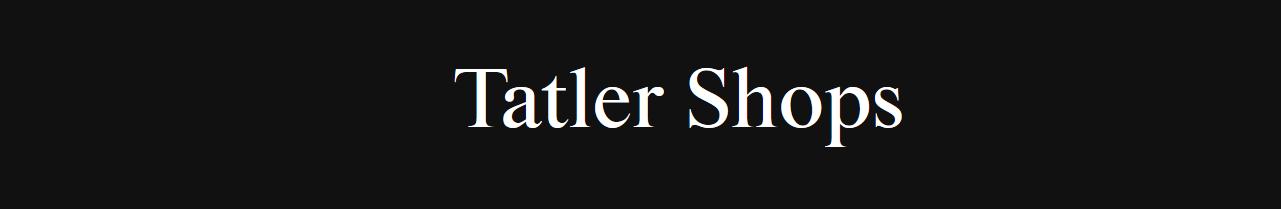 Tatler Shops: Beauty