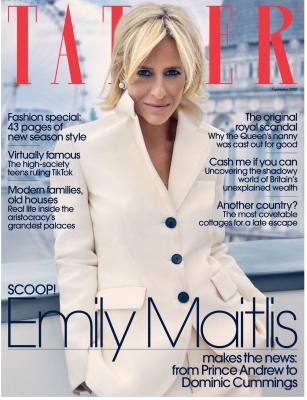 TATLER Aug2020 Cover Emily Maitlis
